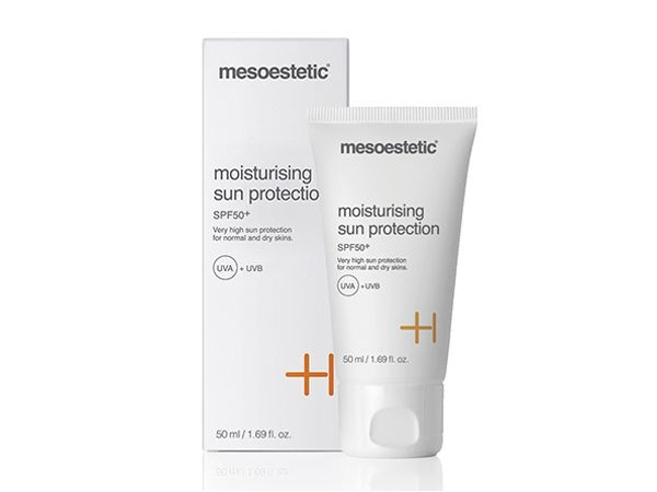 krem Mesoestetic Moisturising Sun Protection Cream SPF 50+